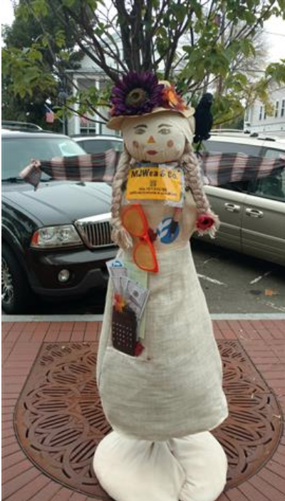 Vote for our scarecrow!